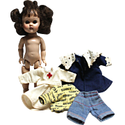 Vogue Ginny Doll And Clothing Lot - TLC