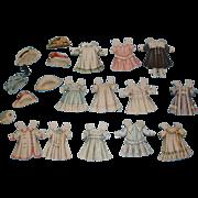 Circa 1910 Lettie Lane Paper Doll Clothes