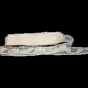 6 Yards Of Vintage Insertion Lace Trim