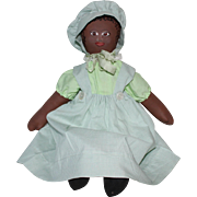 Jean Rousse Artist Oilcloth Doll