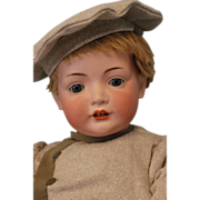 c.1912 Antique 23 inch Bahr and Proschild 585 Character German Bisque Doll