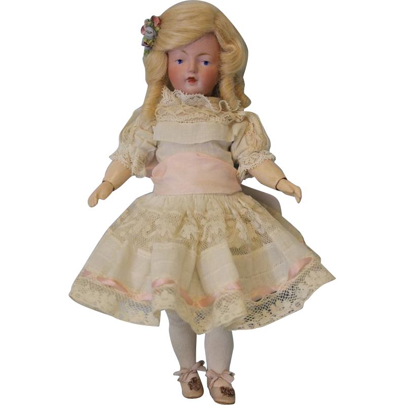 9 inch Antique Kestner 180 Series Character German Bisque Doll Adorable With BJ Body