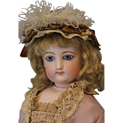 c.1875 25 inch FG French Fashion Antique Bisque Poupee Doll by Francois Gaultier