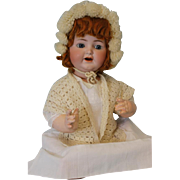 1910 21 inch Antique K star R Simon Halbig  number 126 Character Baby Doll Red Head.
