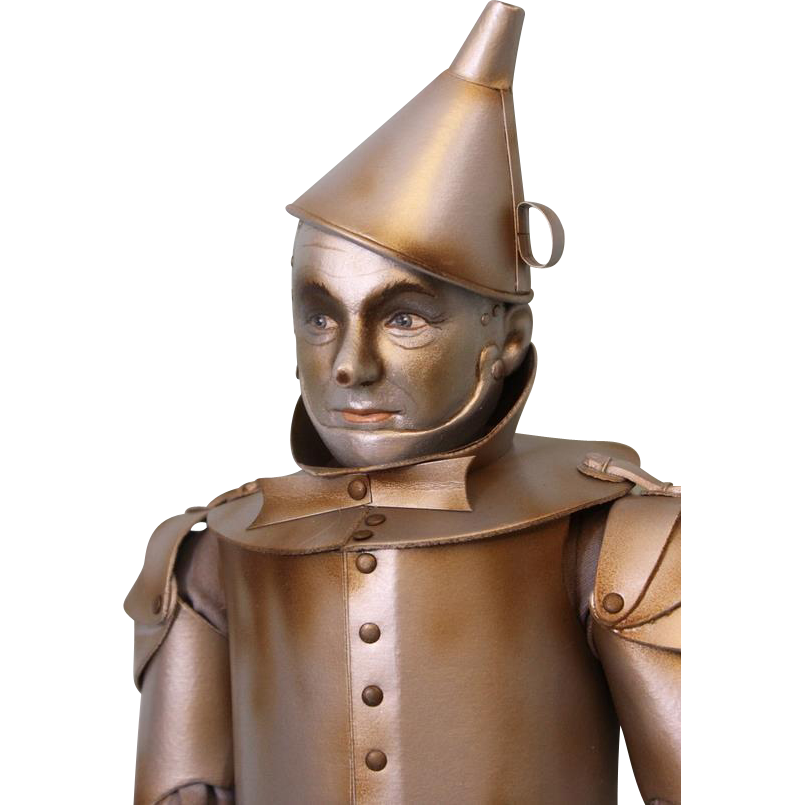 Limited Ed. 18 inch R. John Wright Tin Man from The Wizard of Oz Doll Figure Doll