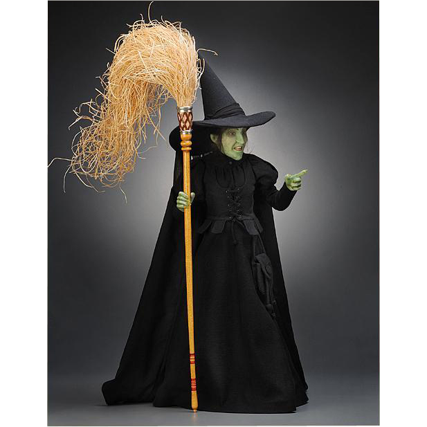 17 inch R. John Wright, Wicked Witch of the West Doll, Wizard of Oz Limited Edition