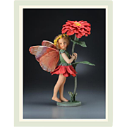 10 inch R. John Wright Zinnia Fairy Artist Doll Limited Edition