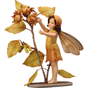 R. John Wright Flower Fairies of the Autumn Doll The Hazel nut Fairy