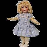 12.5 inch Antique German Bisque K star R Simon Halbig 122 Character Doll Flirty Eyes