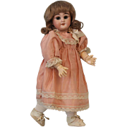 10.5 inch Antique Simon and Halbig 749 DEP Doll Made for the French Market