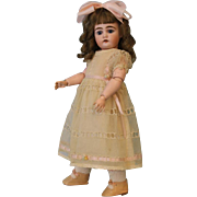 "Antique 15"" Beautiful German Bisque Doll 192 by Kammer and Reinhardt Circa 1895"
