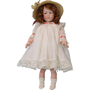 Petite 8 inch Antique K Star R Marie 101 German Bisque Character Doll c.1910 Ball JTD