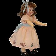 Antique German 11 inch Alt, Beck and Gottschalck ABG Character Doll 1361 c.1915 CUTE.