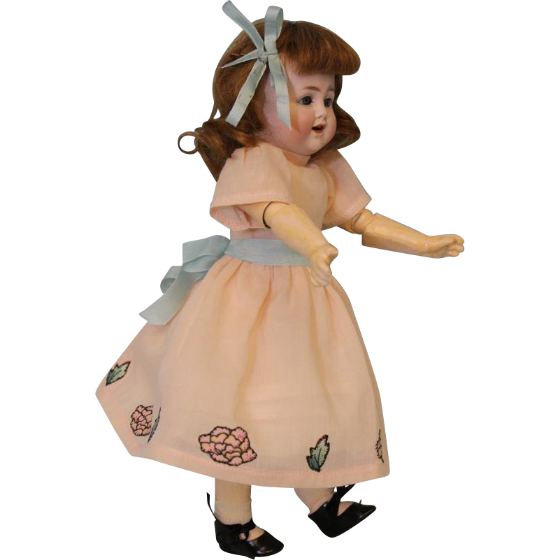 Antique German 11 inch Alt, Beck and Gottschalck ABG Character Doll 1361 c.1915 CUTE.