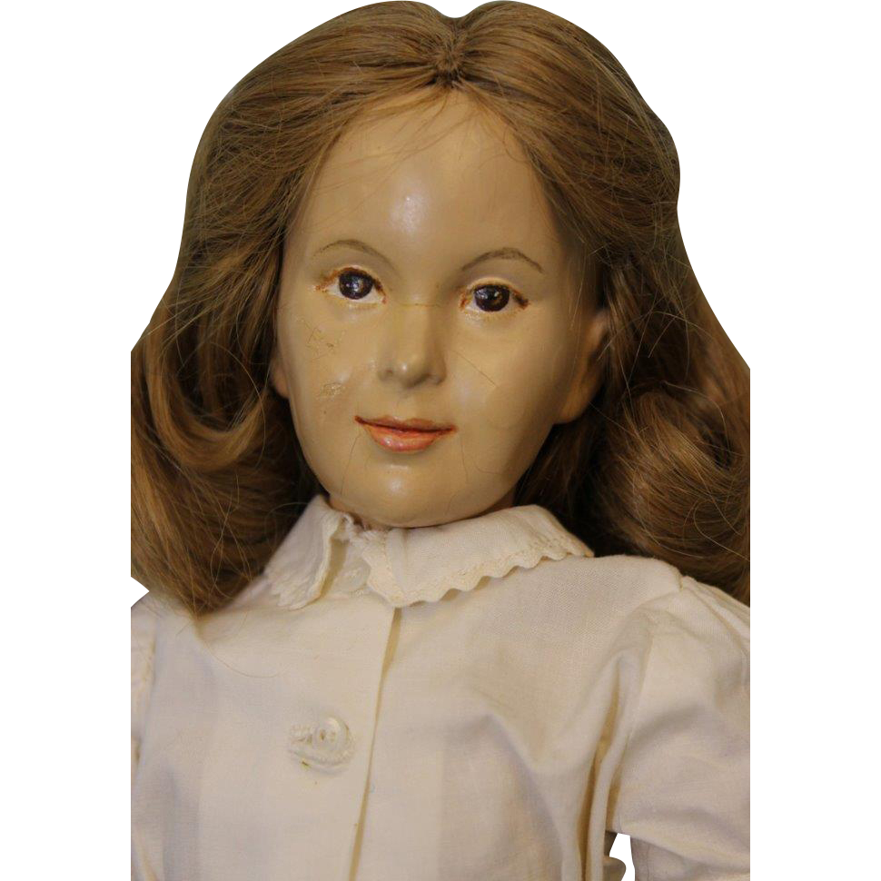 Beautiful 16 inch American Artist Portrait Grow-Up Doll by Dewees Cochran 1950's