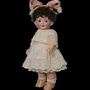 14 inch Antique 165 Jubilee Googly doll Hertel Schwab Ball Jtd Toddler Body 1914