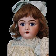 21 inch Antique German Bisque doll Heinrich Handwerck 109 Stamped ball jtd body