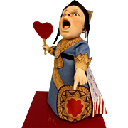 20 inch R. John Wright 2012 QUEEN OF HEARTS Character Doll number 095 of 250 Certificate NRFB