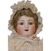 Antique 18 inch Kicking,Screaming,Jules Steiner Gigoteur Doll Ca.1880 Says Mama Papa