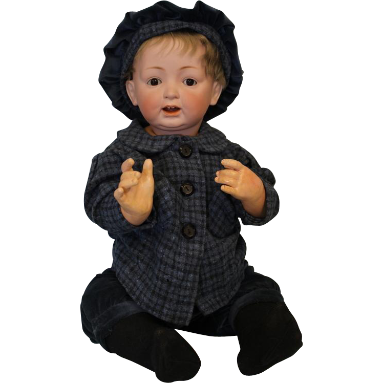 Antique 24 inch Kestner JDK 226 Character Baby Doll Sweet Expression Nice Large Size