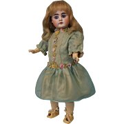13.5 Inch Antique German bisque 208 Doll by Bahr & Prochild Straight Wrist Body