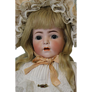 21 Inch Antique Franz Schmidt Character Toddler Doll 1295 F.S.&C Bisque c.1915