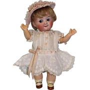 7 inch Antique Demalcol Googly German bisque dolll A Boo boo bargain
