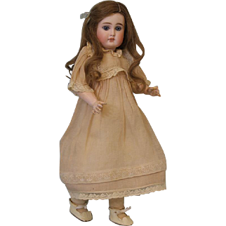 Antique 14 inch German Bisque Doll Marked 183 so called Belton Look c.1895