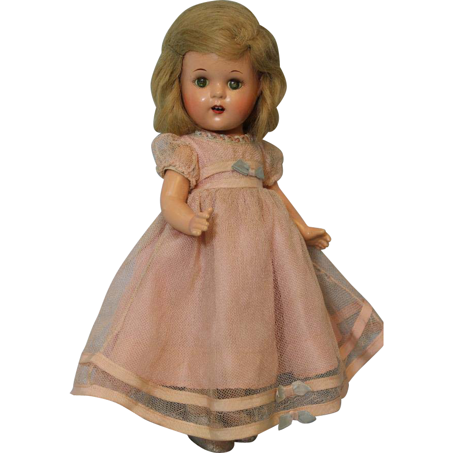 "13 inch Composition Madame Alexander ""Princess Elizabeth"" Doll c.1937 Tagged Orig!"