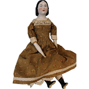 20 Inch Antique China Head doll Known as Lydia By A.W. Fr. Kister Ca.1890
