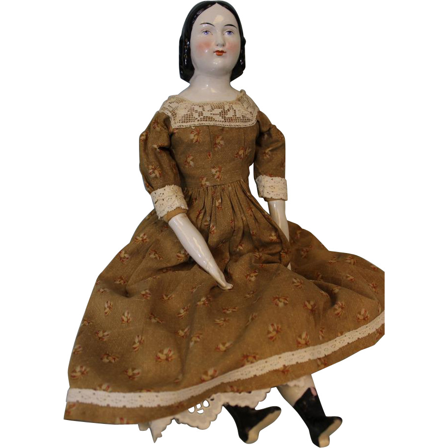 20 Inch Antique China Head doll Known as Sophia Smith By A.W. Fr. Kister Ca.1890