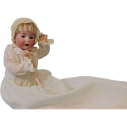 Antique 8 Inch German Bisque Character DIP doll by Swaine & Company c.1915