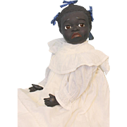 26 Inch American Black Character Doll Paper Mache