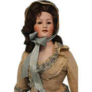 Rare 14 Inch Antique German Bisque Lady Doll 7926 by Gebruder Heubach c.1912