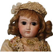 11 Inch Jumeau Premiere Bebe Antique French Bisque Doll 1880 Orig 8 balljtd body