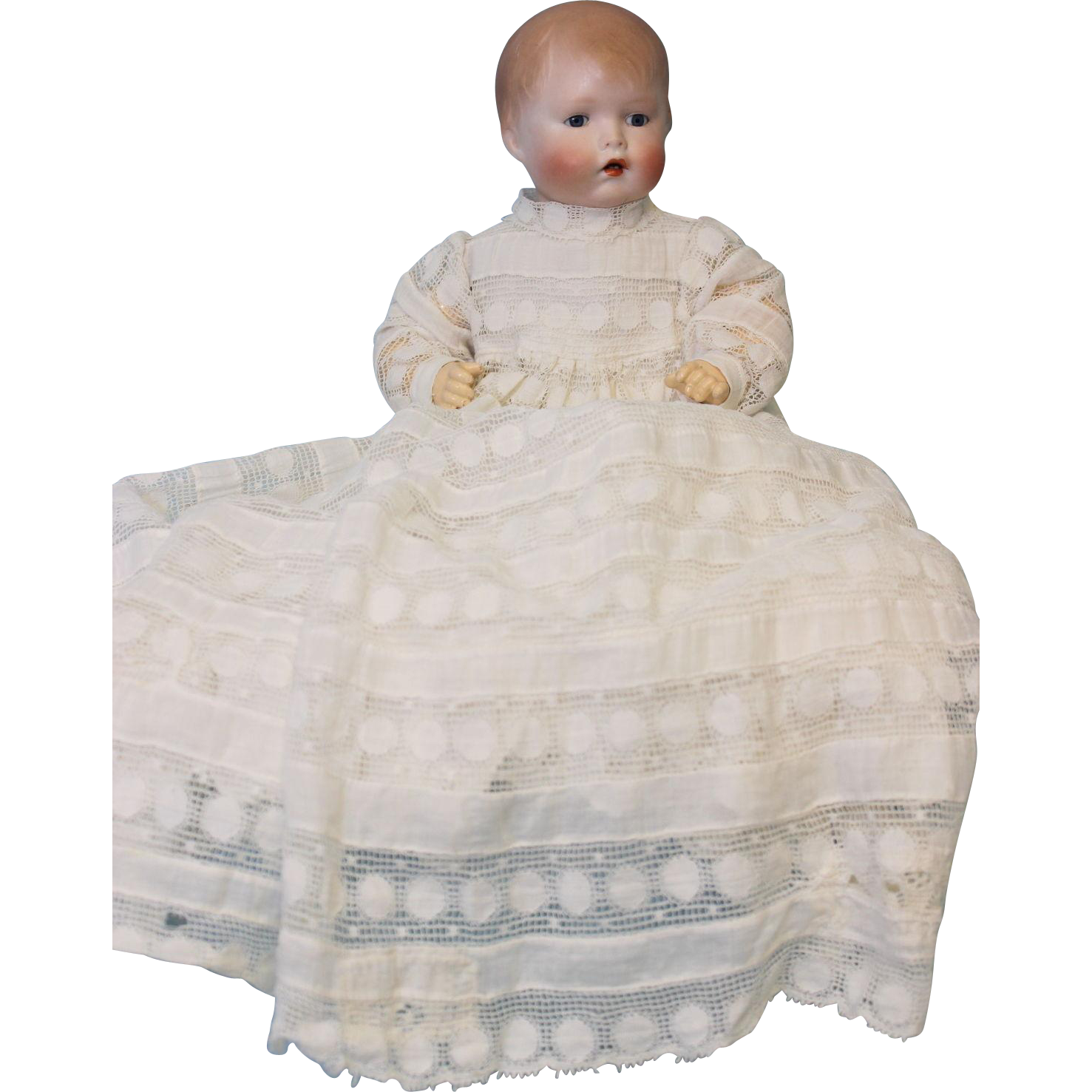 Antique 15 Inch Baby Bo-Kaye Doll designed by Joseph Kallus for Borgfeldt c1920