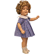 """18"""" Ideal Shirley Temple Doll From 1939 """"Susannah of the Mounties"""" All Original"""