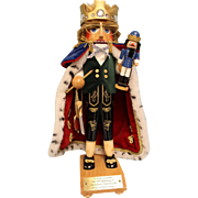 18-1/2 inch Steinbach Nutcracker #S100 75th Birthday Jubilee King