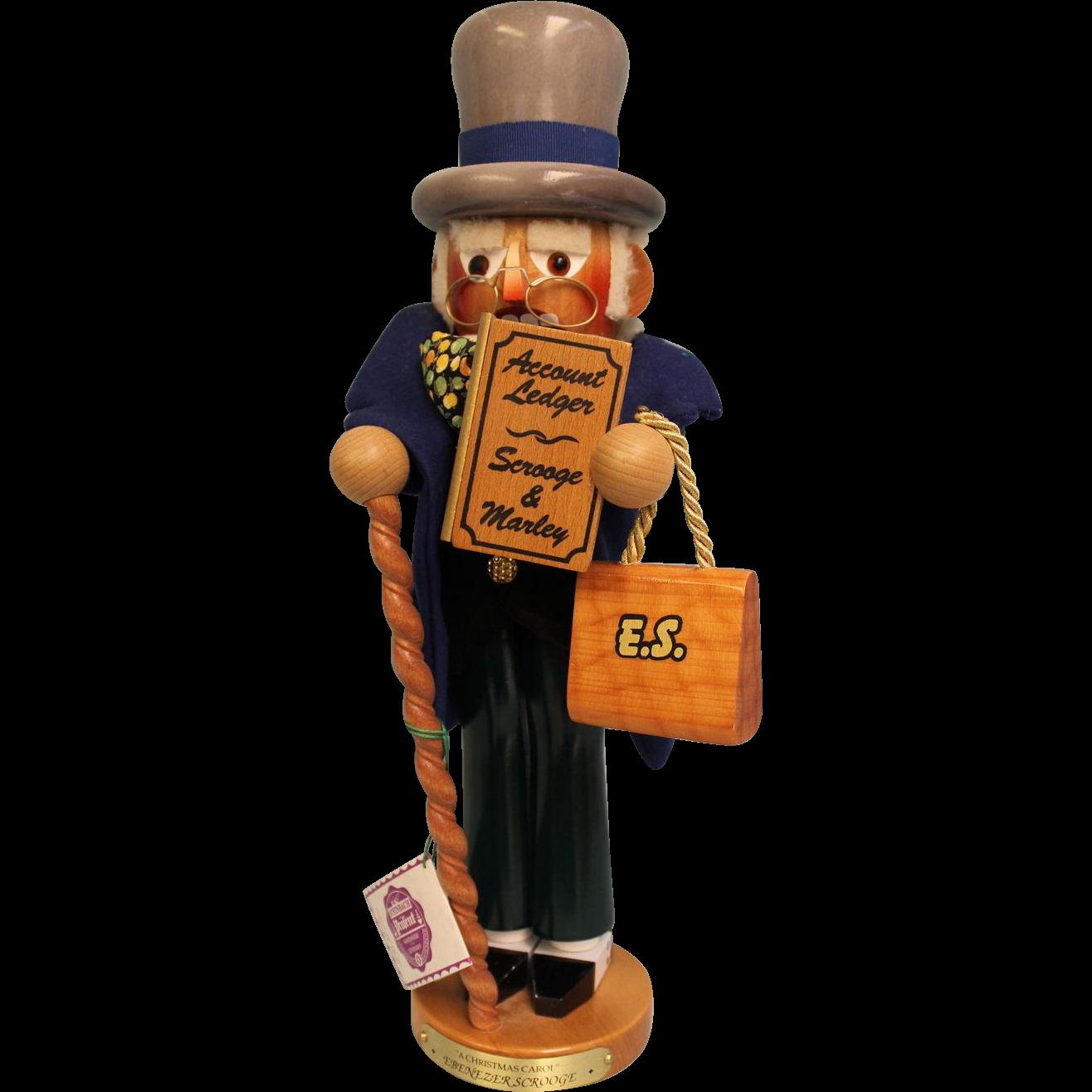 "17"" Steinbach Nutcracker #S896 Scrooge"