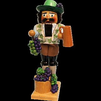 "17-1/2"" Steinbach Nutcracker #S1690 Wine Grower"