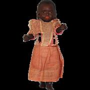"""Antique 10"""" 39915 Heubach Koppelsdorf Black South Seas Island Baby Doll c.1910"""