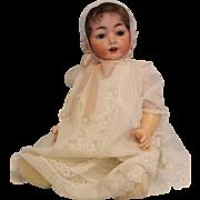 "Antique 25"" German Bisque Hertel Schwab Baby Doll 99/15 LARGE BABY!"