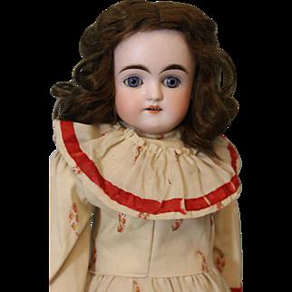 "20"" Antique German Bisque Turned Head Kestner Doll Alphabet Series,Plaster Pate"