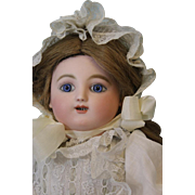 "18"" Kicking French Screaming Jules Nicholas Steiner Doll Gigoteur Mechanical"