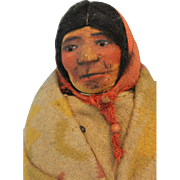 10 inch Native American Mary Frances Woods Doll 1920s-30s