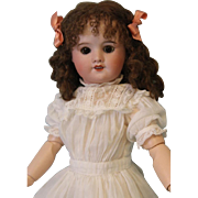 15 Inch French bisque Marked 2L SFBJ France Paris 60 0 doll Beautifully Dressed