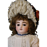 17 inch inch Kicking Screaming Jules Nicholas Steiner Doll Gigoteur Mechanical 1880s