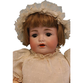12 inch JDK 260 petite Kestner Character child doll Orig Ball joint body Orig wig
