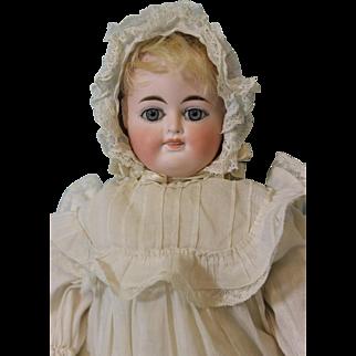 Antique 14 inch German Bisque Two-Faced Doll by Fritz Bartenstein c.1892 Mama Crier