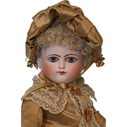 Antique 14 inch Bebe Schmitt & Fils French Bisque Doll ca.1879 Rare Example!